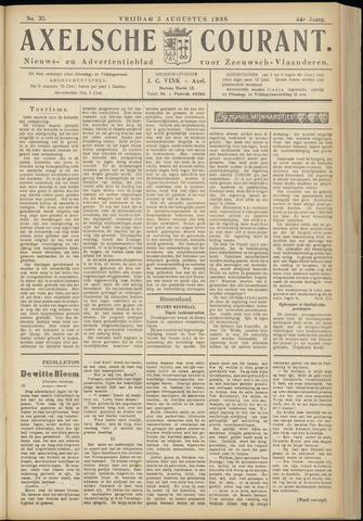 Axelsche Courant 1938-08-05