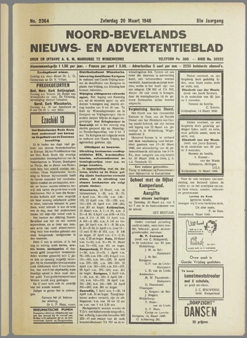 Noord-Bevelands Nieuws- en advertentieblad 1948-03-20