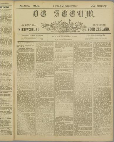 De Zeeuw. Christelijk-historisch nieuwsblad voor Zeeland 1906-09-21
