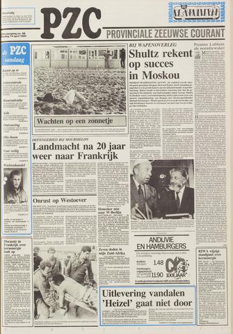Provinciale Zeeuwse Courant 1987-04-14