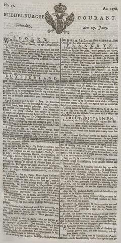 Middelburgsche Courant 1778-06-27