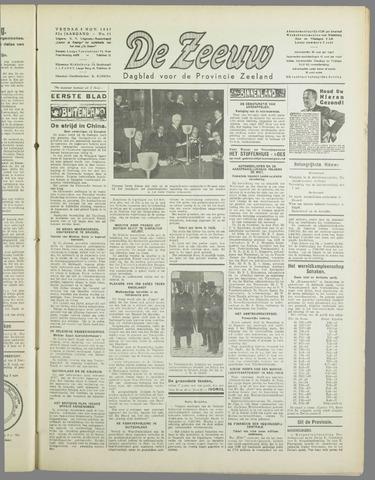 De Zeeuw. Christelijk-historisch nieuwsblad voor Zeeland 1937-11-05