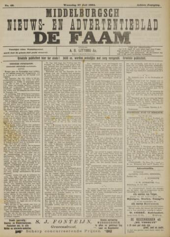 de Faam en de Faam/de Vlissinger 1904-07-27