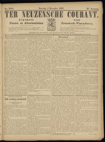 Ter Neuzensche Courant. Algemeen Nieuws- en Advertentieblad voor Zeeuwsch-Vlaanderen / Neuzensche Courant ... (idem) / (Algemeen) nieuws en advertentieblad voor Zeeuwsch-Vlaanderen 1897-12-04