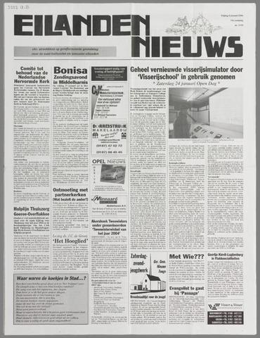 Eilanden-nieuws. Christelijk streekblad op gereformeerde grondslag 2004-01-09