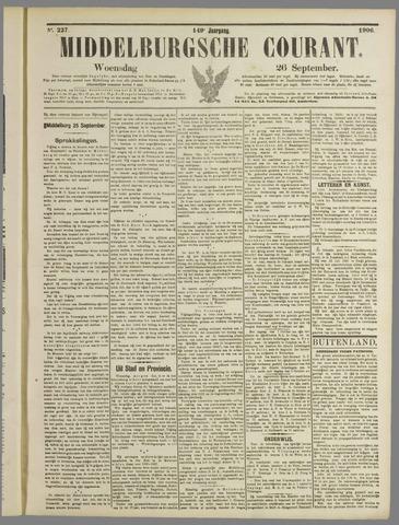 Middelburgsche Courant 1906-09-26