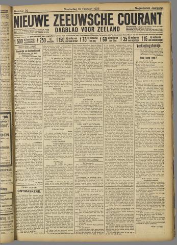Nieuwe Zeeuwsche Courant 1923-02-15
