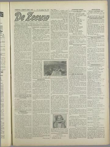 De Zeeuw. Christelijk-historisch nieuwsblad voor Zeeland 1943-09-03