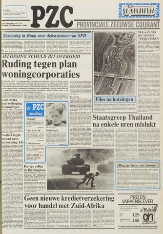 Provinciale Zeeuwse Courant 1985-09-10