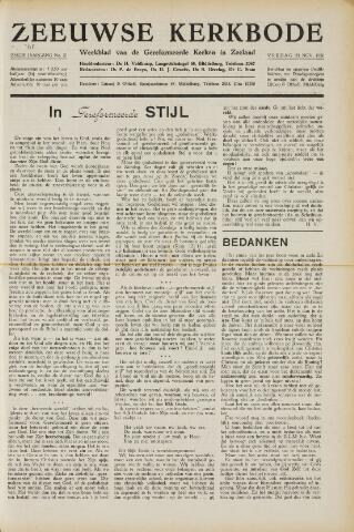 Zeeuwsche kerkbode, weekblad gewijd aan de belangen der gereformeerde kerken/ Zeeuwsch kerkblad 1950-11-24
