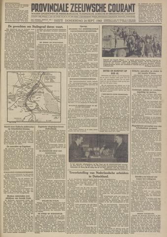 Provinciale Zeeuwse Courant 1942-09-24