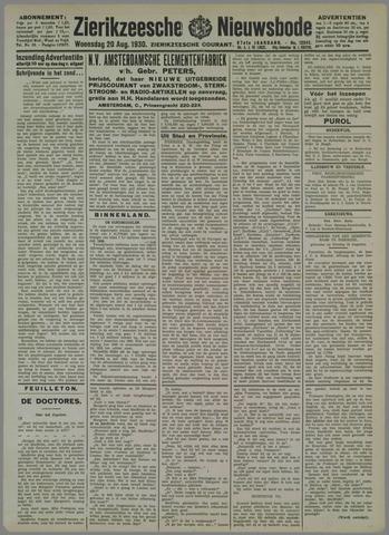 Zierikzeesche Nieuwsbode 1930-08-20