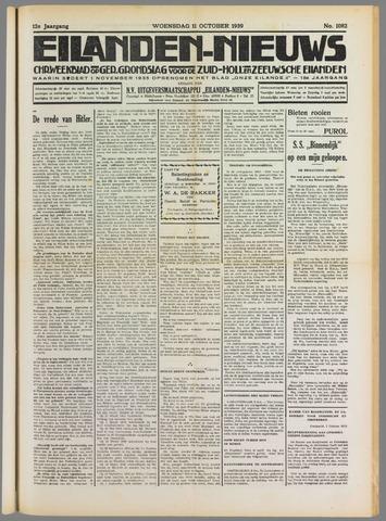 Eilanden-nieuws. Christelijk streekblad op gereformeerde grondslag 1939-10-11