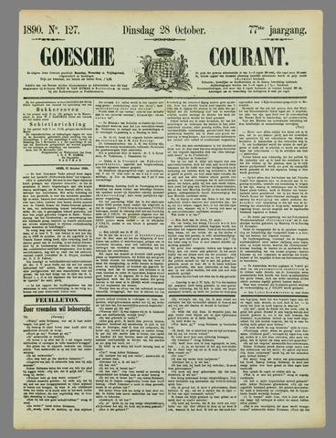 Goessche Courant 1890-10-28