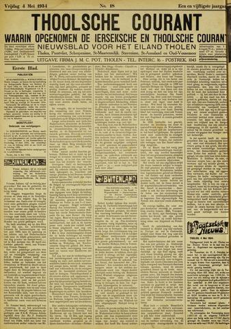 Ierseksche en Thoolsche Courant 1934-05-04