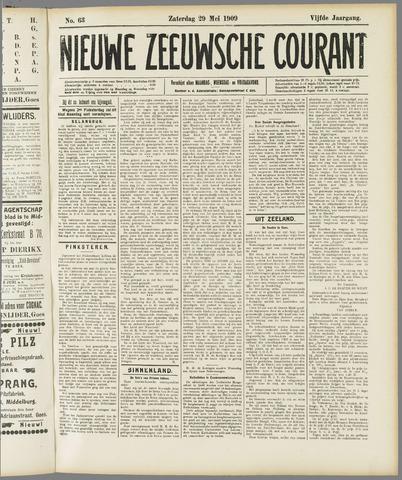Nieuwe Zeeuwsche Courant 1909-05-29