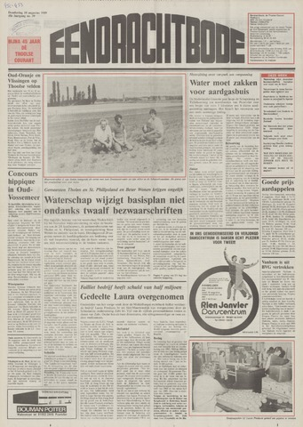 Eendrachtbode (1945-heden)/Mededeelingenblad voor het eiland Tholen (1944/45) 1989-08-10