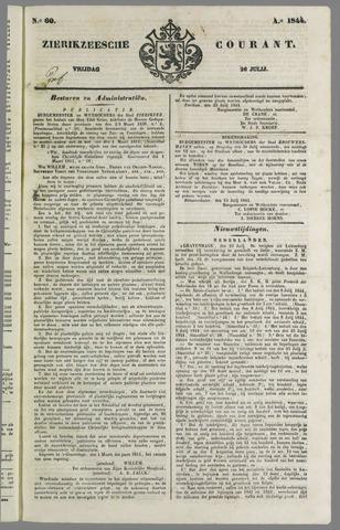 Zierikzeesche Courant 1844-07-26