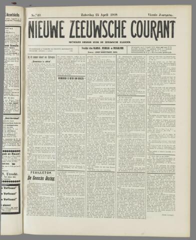 Nieuwe Zeeuwsche Courant 1908-04-25