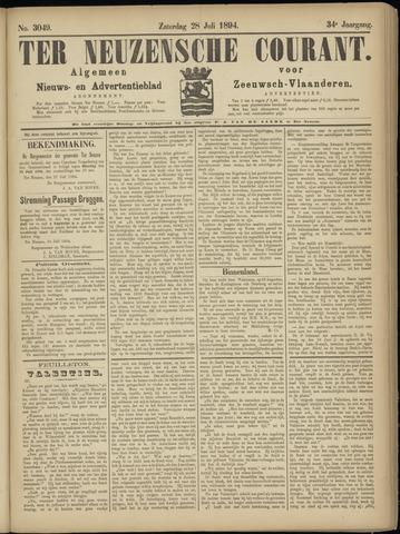 Ter Neuzensche Courant. Algemeen Nieuws- en Advertentieblad voor Zeeuwsch-Vlaanderen / Neuzensche Courant ... (idem) / (Algemeen) nieuws en advertentieblad voor Zeeuwsch-Vlaanderen 1894-07-28