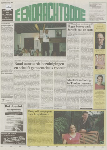 Eendrachtbode (1945-heden)/Mededeelingenblad voor het eiland Tholen (1944/45) 2004-06-17