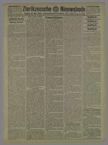 Zierikzeesche Nieuwsbode 1923-05-25