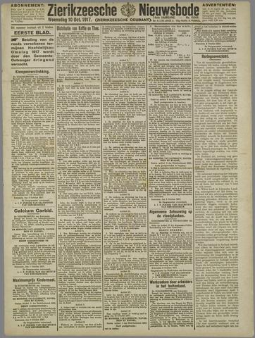 Zierikzeesche Nieuwsbode 1917-10-10