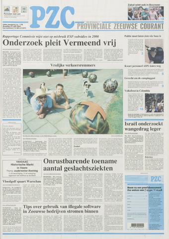 Provinciale Zeeuwse Courant 2001-07-31