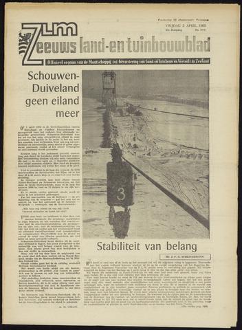 Zeeuwsch landbouwblad ... ZLM land- en tuinbouwblad 1965-04-02