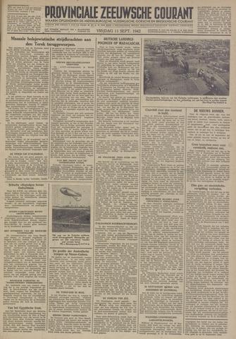 Provinciale Zeeuwse Courant 1942-09-11