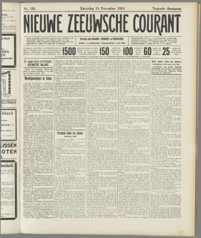 Nieuwe Zeeuwsche Courant 1913-11-15