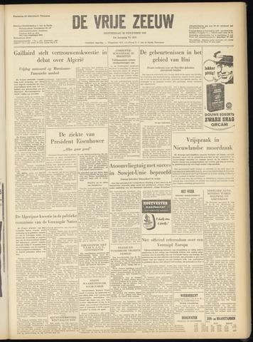de Vrije Zeeuw 1957-11-28