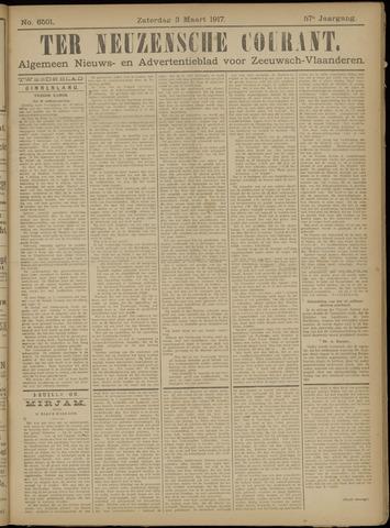 Ter Neuzensche Courant. Algemeen Nieuws- en Advertentieblad voor Zeeuwsch-Vlaanderen / Neuzensche Courant ... (idem) / (Algemeen) nieuws en advertentieblad voor Zeeuwsch-Vlaanderen 1917-03-03