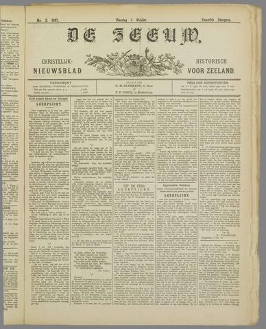 De Zeeuw. Christelijk-historisch nieuwsblad voor Zeeland 1897-10-05