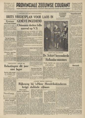 Provinciale Zeeuwse Courant 1961-05-17