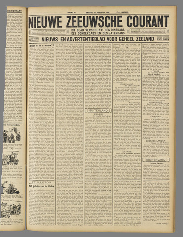 Nieuwe Zeeuwsche Courant 1931-08-25
