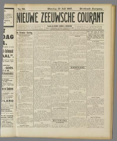 Nieuwe Zeeuwsche Courant 1917-07-31