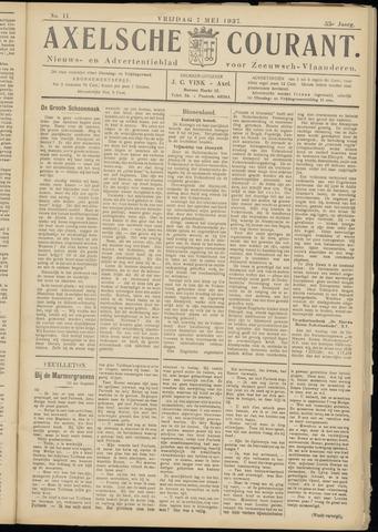 Axelsche Courant 1937-05-07