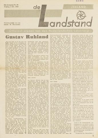 De landstand in Zeeland, geïllustreerd weekblad. 1943-10-01