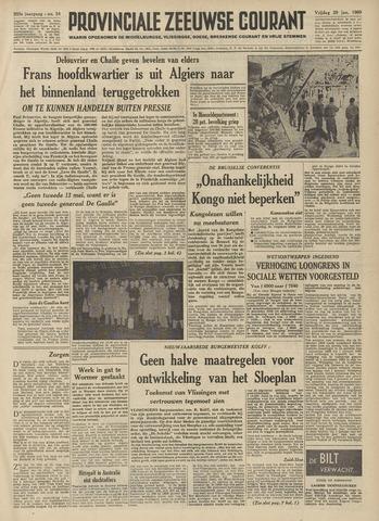 Provinciale Zeeuwse Courant 1960-01-29