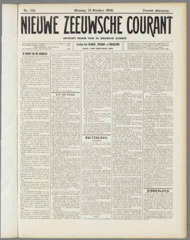 Nieuwe Zeeuwsche Courant 1906-10-23