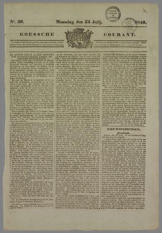 Goessche Courant 1843-07-24