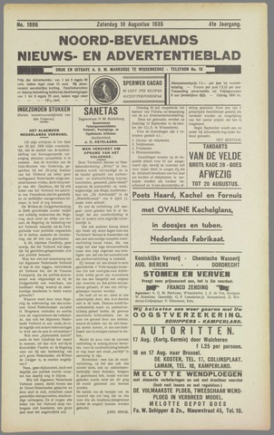 Noord-Bevelands Nieuws- en advertentieblad 1935-08-10