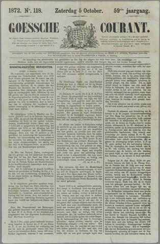 Goessche Courant 1872-10-05