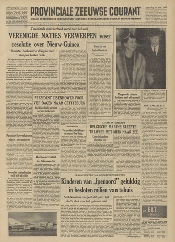 Provinciale Zeeuwse Courant 1957-11-30