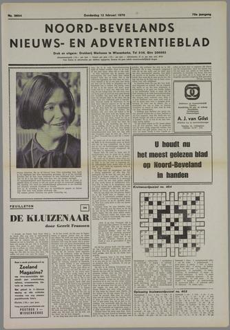 Noord-Bevelands Nieuws- en advertentieblad 1976-02-12