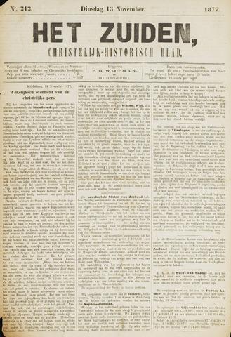 Het Zuiden, Christelijk-historisch blad 1877-11-13