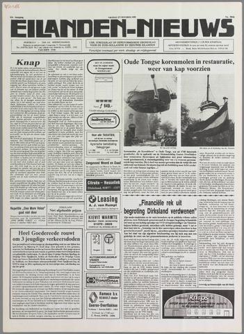 Eilanden-nieuws. Christelijk streekblad op gereformeerde grondslag 1989-10-27