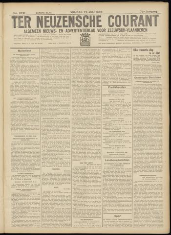 Ter Neuzensche Courant. Algemeen Nieuws- en Advertentieblad voor Zeeuwsch-Vlaanderen / Neuzensche Courant ... (idem) / (Algemeen) nieuws en advertentieblad voor Zeeuwsch-Vlaanderen 1938-07-29