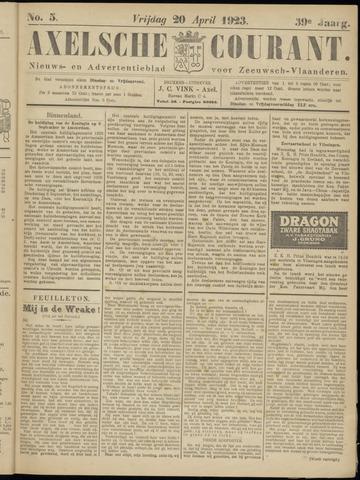 Axelsche Courant 1923-04-20